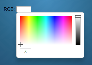 color RGBColor Widget
