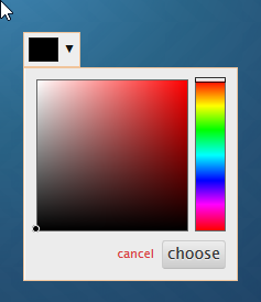 color RGB Spectrum Widget