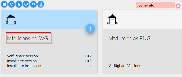 Installation von Mfd icons as SVG in ioBroker