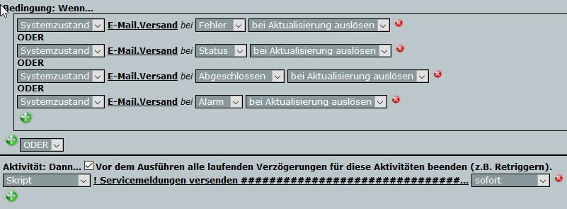 E-Mail Programm auf der HomeMatic