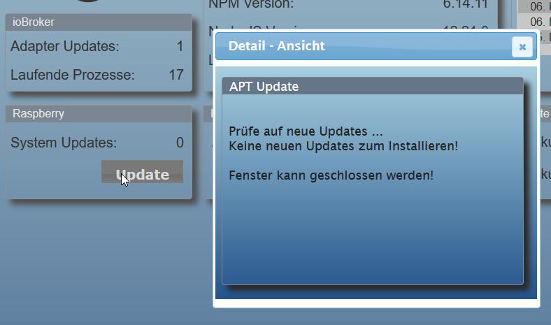 APT Update Ausgabe